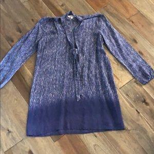 BB Dakota navy long  sleeve sheath dress
